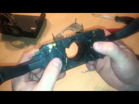 видео: Ремонт подрулевого переключателя Ауди80.