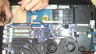 Lenovo Y50-70   Disassembly and fan cleaning  Laptop repair