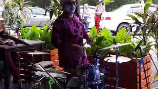 Auntie Band - Tak Tun Tuang cover ( Kak Nab drum Cover)