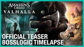 Assassin's Creed Valhalla: Official Teaser with BossLogic – Timelapse | Ubisoft [NA]