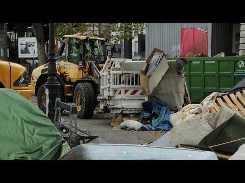 France : un camp de 2 000 migrants évacué à Paris