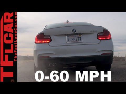 Bmw 228i 0 60 >> 2015 Bmw 228i 0 60 Mph Test Track Review Fast Friendly Youtube
