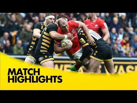 Wasps v Saracens - Aviva Premiership Rugby 2016-17