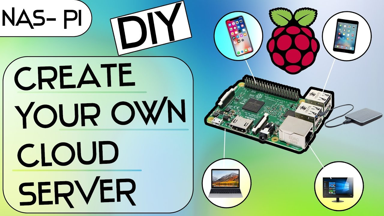 How To Create NAS (Network Attached Storage) Server With Raspberry Pi 3 ?  || NAS With Pi