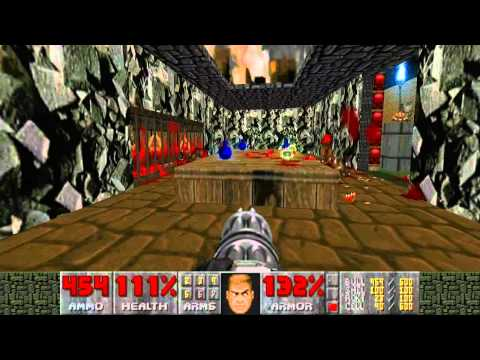 Chris's Old Doom 2 Maps: CITY.WAD - Ancient PWAD of mine from 1997