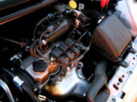 10 - Chevrolet Matiz - 0.8 52 HP - Cold Start 2 - YouTube