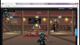 AQWorlds-Get Eternal warrior // como abrir e comprar o shop (evento lqs)