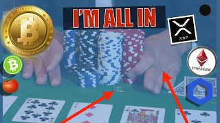 I'M ALL IN ON CRYPTO ( BITCOIN BTC ETHEREUM XRP CHAINLINK CARDANO EOS BITCOIN CASH) AND HERE'S WHY