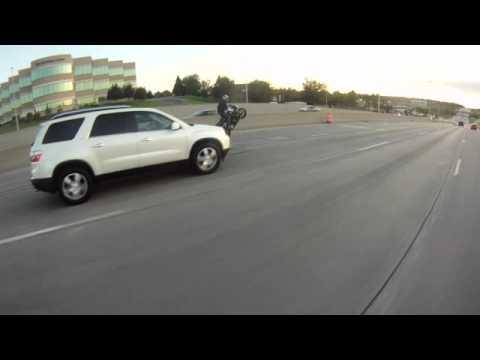 Stand Up Wheelie Mix - Omaha - CBR 600RR