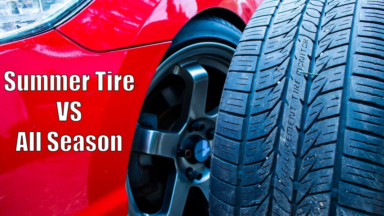 Summer Tires Vs All Season >> Summer Tires Vs All Season Tires