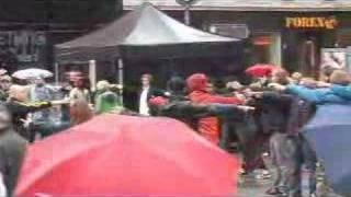 Mexican Standoff - Flashmob. Oslo