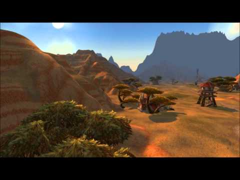 Traveling from Rachet to Ashenvale - Fly through - Scenery - World of Warcraft