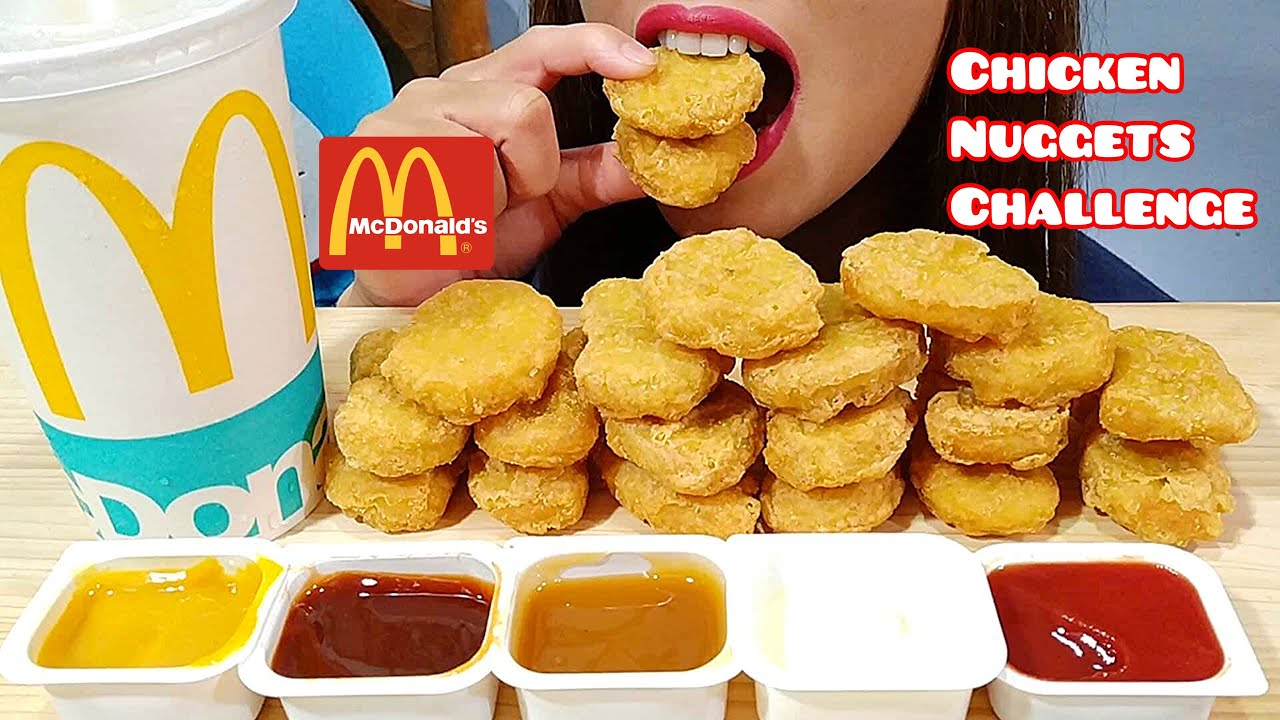 Asmr Mcdonalds Chicken Nuggets Challenge From Auzsome Austin Eating Sounds