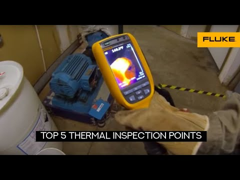 Top 5 Thermal Inspection Points on an electrical motor