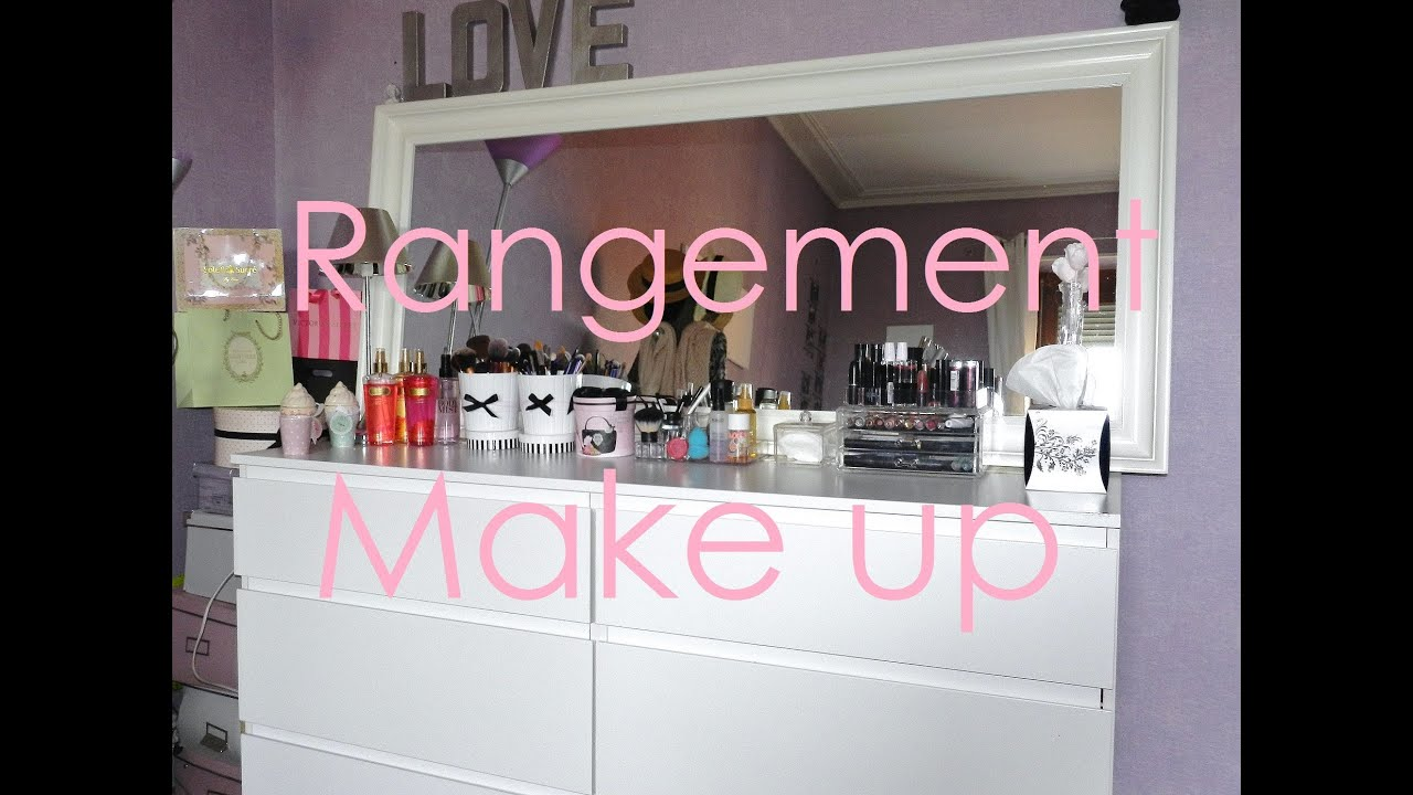 mon rangement beaut make up vernis soins 2013 youtube. Black Bedroom Furniture Sets. Home Design Ideas