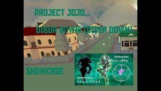 ROBLOX PROJECT JOJO DIVER DOWN SHOWCASE! (edited)