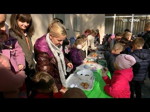UA:СУМИ: Благодійний ярмарок провели у сумському НВК