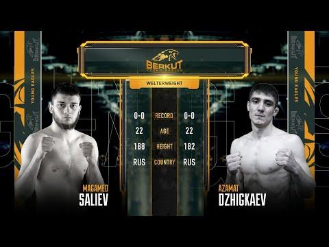 BYE 3: Магомед Салиев vs. Азамат Джигкаев   Magomed Saliev vs. Azamat Dzhikaev