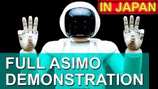 Honda Robot ASIMO full length demonstration in Japan, Odaiba