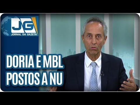 Bob Fernandes/Doria e MBL postos a nu. E o suicídio do Reitor Cancellier expõe o fascismo