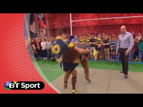 Pitch Demo: Jacques Burger tackling masterclass | Rugby Tonight
