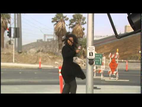 News Blooper:  Palm Springs CBS reporter gets blown away!