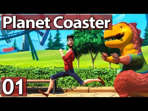 PLANET COASTER #1 Weniger und besser? Lets Play Planet Coaster
