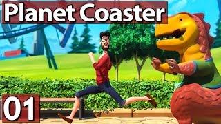 PLANET COASTER #1 Weniger und besser? Lets Play Planet Coaster