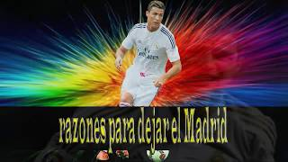 Las 6 razones de Cristiano Ronaldo para querer irse del Real Madrid