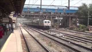 Compilation of Speedy Express Trains at Noon, Evening & Night at Kopar & Dombivli Stations, Mumbai
