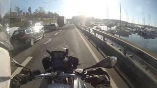E18 trafikken - Holmen til Skøyen kl. 7:30