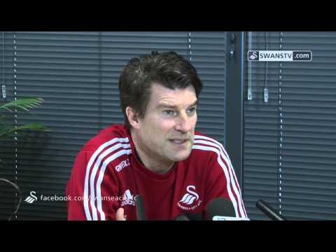 Swansea City Video: Michael Laudrup speaks ahead of Fulham