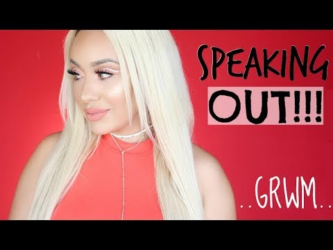 """SPEAKING OUT!! MY CONTROVERSIAL """"SPONSORED"""" VIDEO: Chit Chat GRWM"""