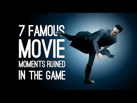 7 Famous Movie Moments Ruined in the Game Adaptation