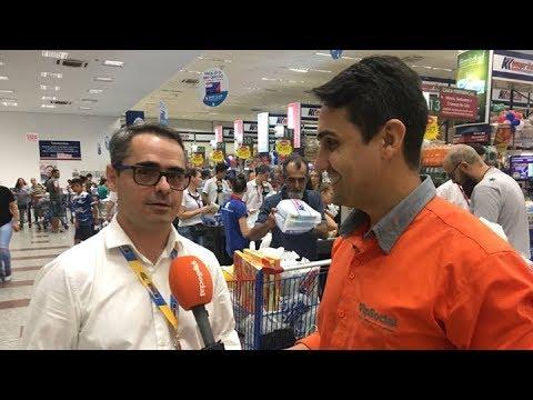 Flash Ao Vivo / Direto do Komprão Koch Atacadista em São João Batista