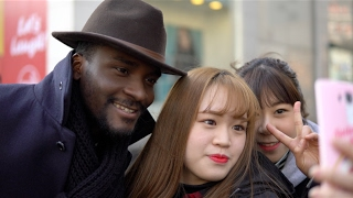 The Most Famous Black Man In Korea Sam Okyere  ASIAN BOSS