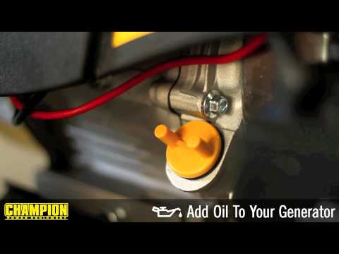 How-To: Add Oil To Your Generator