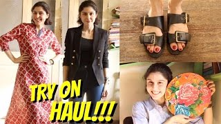 TRY ON HAUL- H&M, JABONG & MORE!!!