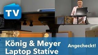 König & Meyer Laptop Stative und Ständer - für Audio PCs und Audio-Laptops