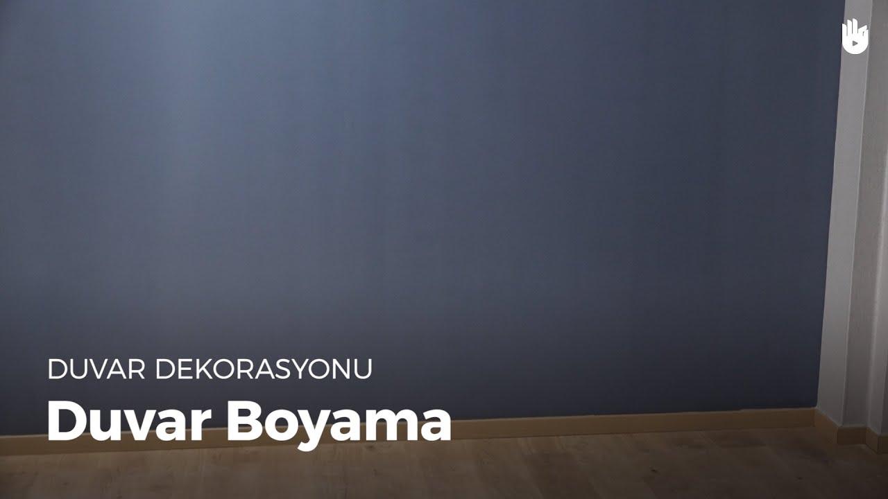 Duvar Dekorasyonu Duvar Boyama Kendin Yap Youtube