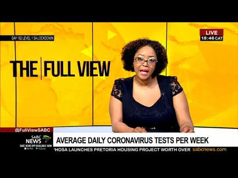 Latest COVID-19 Statistics And Trends In South Africa With Dr Ridhwaan Suliman