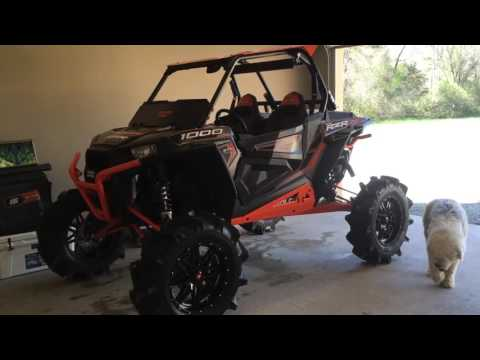 Rzr 1000 Xp Superatv Portal Gear Lift 35 5 Bkt Tires Youtube