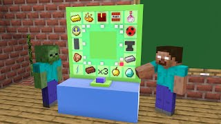 Monster School : Spin And Win - Funny Minecraft Animation