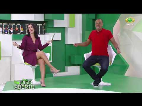 Denilson E Larissa Erthal Dançam Funk No Palco Do Programa