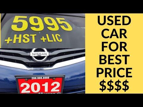 Shopping For Used Car In Canada By Canadadarshan1000
