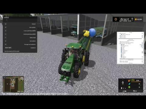 RDAllen Live Stream Multiplayer Farming Simulator 17 Texas It is the Big Bud!