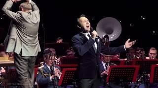 """Ян ОСИН - """"Я люблю тебя, Русь"""". Выступление с Центральным Военным Оркестром Министерства Обороны"""