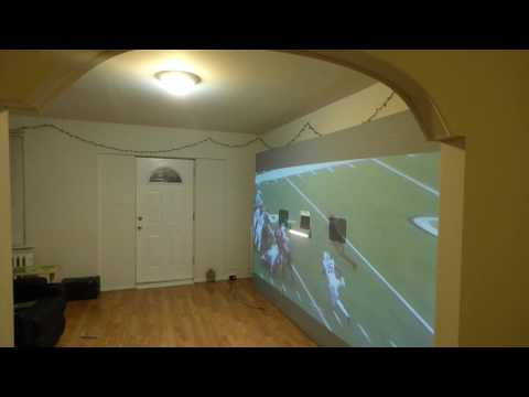 WANT THE BEST PROJECTOR SCREEN FOR SUPER BOWL THAN CHECKOUT THIS!