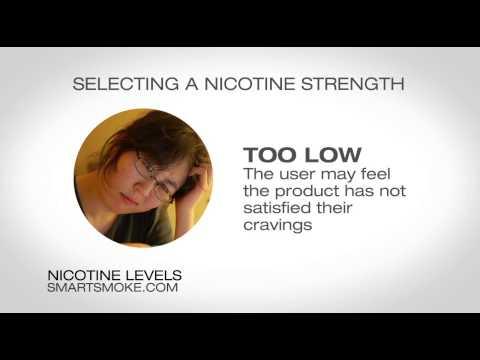 Selecting the Correct E Cig Nicotine Strength | by Smart Smoke®
