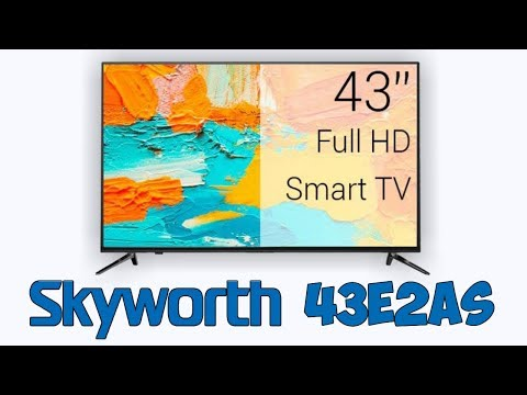 📺👍ТЕЛЕВИЗОР SKYWORTH 43E2AS SmartTV FullHD 43 дюйма с алиэкспресс